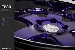 f230-matte-prism-purple (AG Wheels) Tags: 3 paint purple flat coat iii wheels profile deep prism powder level ag lip form reverse custom standard rim rims avant garde matte avantgarde level3 bespoke powdercoat f230 avantgardewheels agwheels agform