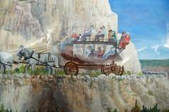 Penelope by Diane Hausmann (SomePhotosTakenByMe) Tags: city vacation usa art animal america project buffalo montana penelope unitedstates kunst urlaub publicart amerika bison tier büffel westyellowstone paintedbuffalo buffaloroam dianehausmann