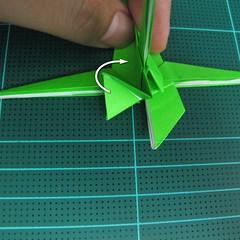 วิธีพับกระดาษเป็นจรวด X-WING สตาร์วอร์ (Origami X-WING) 034