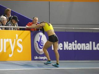 Katarina Johnson-Thompson, High Jump - British Athletics Indoor Championships 2014