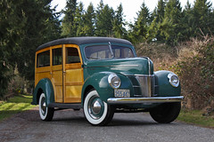 "1940 Ford DeLuxe ""Woody"" Station Wagon (Park Place LTD) Tags: ford deluxe 1940 woody stationwagon 1940ford forddeluxestationwagon"