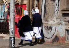 T-nuns (Archbishop of Zagreb) Tags: street wall graffiti grafiti croatia nun nuns zagreb motherteresa hrvatska ulica zid majkatereza redovnice asnesestre terezijanke misionarke