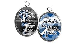 PU070- music speaks (ToadHollowNJ) Tags: jewelry charms pickupsticks redbanknj toadhollow photocharms toadhollownjcom