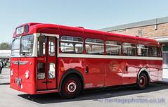 IMG_5407_High Contrast Images (GRAHAM CHRIMES) Tags: colour bus london museum contrast spring high fair single 200 apb gathering 1956 reg built brooklands decker 41st reliance aec safeguard 200apb wwwheritagephotoscouk
