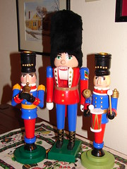Two candle sticks and a nutcracker (Seattle.roamer) Tags: r artsandcrafts a