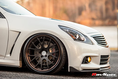 "WORK Gnosis FCV02 Infinti G37 4.2 Supercharged • <a style=""font-size:0.8em;"" href=""http://www.flickr.com/photos/64399356@N08/14414866895/"" target=""_blank"">View on Flickr</a>"