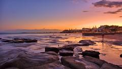 SUNSET AT CALOUNDRA (16th man) Tags: sunset canon eos rocks australia qld sunshinecoast caloundra eos5dmkiii