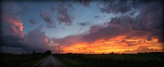 Beautiful sunset (blather44) Tags: sunset canon illinois country canon7d