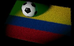 Colombia Flag soccer (theglobalpanorama) Tags: world game cup sport japan last football colombia fifa soccer group crush 2014 tgp globalpanorama