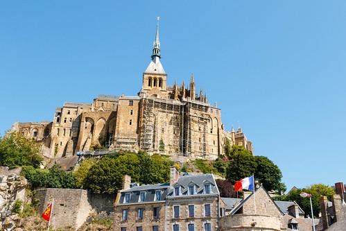 L'abbaye du Mont Saint-Michel