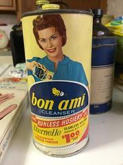 Bon Ami Cleanser (Mark 2400) Tags: bon ami vintage packaging