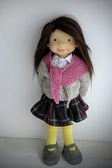 "KATRINA 20"" doll (Dearlittledoll) Tags: waldorf waldorfdoll waldorfdoll18inch waldorfclothing dearlittledoll steinerdoll natural naturalkids naturalfiberdoll organicdoll"