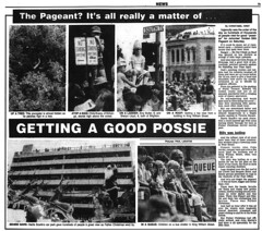 John Martins Christmas Pageant (November 1983) (RS 1990) Tags: microfilm newspaper retro christmas pageant november 1983 johnmartins adelaide southaustralia australia article