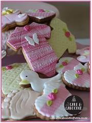 baby shower love (The Whole Cake and Caboodle ( lisa )) Tags: babyshower baby whangarei thewholecakeandcaboodle caboodle cookies cookie children