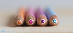 4 in a row ( Echt Mooi! Happy Shooting day!) Tags: color colour pencil bokeh canon potlood potloden