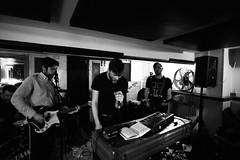 Egrets (garrettc) Tags: oxford music gig live oxjam cowleyroad bw oxfam thelibrary egrets