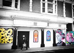 Street art... (Mike Turner) Tags: streetart graffiti streetphoto graffitart skyhigh skyhighgraffiti osborneroad southsea portsmouth hampshire colorsplash coloursplash instagram iphone iphone6