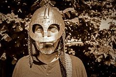 282/366 Viking Rafson & 41/52 sepia & other old styles (rafartreides2017) Tags: vikingthing viking helmet sepia 366the2016edition 3662016 day282366 8oct16