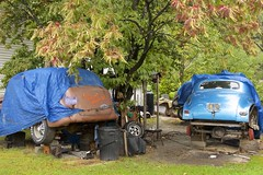 Shade Tree Mechanic (2bmolar) Tags: clichesaturday hcs shadetreemechanic oldchevys
