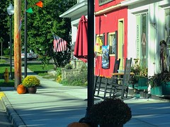 Evening Shadows- A small town in Autumn (Lana Pahl / Country Star Images) Tags: catchycolors colorsofflickr aphotographer countrysideimages findlaylimaareainohio