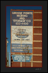 Moving and Storage (the Gallopping Geezer 3.8 million + views....) Tags: sign signage building structure wall painted worn faded ad advertise advertisement product service jefferson avenue detroit mi michigan ghost ghostsign canon 5d3 sigma 24105 geezer 2016