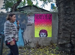 Vanity Fear (.UNO) Tags: uno idontcareaboutuno vanityfear donaldtrump vanityfair streetsofrome streetart streetartroma unostreetart trump urbanart wheatpaste pasteup pasting