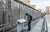Berlin Wall as tourist attraction, Topographie des Terrors DSC_0316 (troy david johnston) Tags: troydavidjohnston berlin germany deutschland berlinwall westberlin eastberlin ddr wall concrete steel seperation divide topographiedesterrors tourism historic