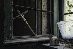 big protection (Oreste Ore Messina) Tags: asylum abandonedasylum madness manicomio mentalhospital urbex urbanexplorationphotography urbanexplorer oresteoremessina orestemessina decay