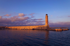 Lighthouse in Rethymno (pavelonline57) Tags: rethymno lighthouse harbor crete