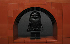 Blackfoot (Karf Oohlu) Tags: lego moc minifig black beard cave pizzaoven