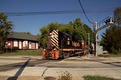 W&LE 104 Main Street Kent Depot 663 10/6/16 (Poker2662) Tags: wle 104 main street kent depot 663 10616