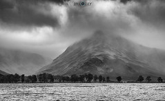Stormy Buttermere (JimCosseyPhotography) Tags: panasonic gx8 25mm mft lumix uk lakedistrict buttermere lake district england mountains greatoutdooors landscapes microthourthirds moody stormy black white jimcosseyphotography