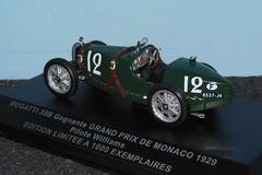 BUGATTI Type 35B - GP Monaco 1929 - 1/43 (xavnco2) Tags: modlesrduits autos automobile diecast models classic car 143 bugatti type 35b 1929 grandprix monaco verte green cofradis