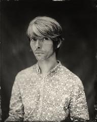 Alban (Julien.Felix) Tags: 95x12in 24x30cm analogue argentique ambrotype julienfelix collodion collodionhumide wetplate portrait