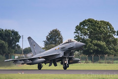 Departing Coningsby (cjf3) Tags: typhoon fastjet qra raf royalairforce topgun royalairforceconingsby lincs fighter