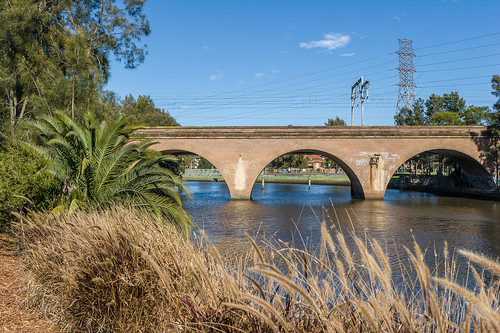 Railway bridge over Cooks River (Canterbury to Campsie)