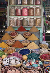 Spice Stall, Marrakech (alison's daily photo) Tags: marrakech souk shop sppices