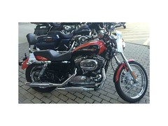 2010 HARLEY-DAVIDSON XL1200C - SPORTSTER 1200 CUSTOM (Tranportationlover3 Using Albums!) Tags: harleydavidson nice cruiser cruisers photography transportation motorcycles motorcycle cool flickr
