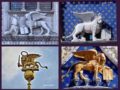 VENECIA Símbolo de Venecia (ferlomu) Tags: escultura estatua ferlomu italia leonalado venecia