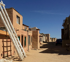 Acoma Pueblo (tmvissers) Tags: acoma skycity pueblo newmexico american southwest adobe dwelling structure ladder dirt street national historic landmark register native indian reservation
