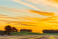 (Daniel000000) Tags: amherst wi wisconsin sunrise sky clouds hill hills nature fall