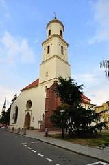 Medieval church in Bolków
