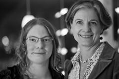IMG_4832 (Anders sterberg) Tags: portrtt portrait bw svartvitt kvinnor tv dof