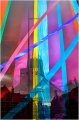Catholic Cathedral, Liverpool (Pitheadgear) Tags: liverpool liverpoolcatholiccathedral merseyfunnel churches cathedrals cathedral ecclesiastical glass artglass architecture architecturaldetail religion church abstract saturated colour vivid merseyside