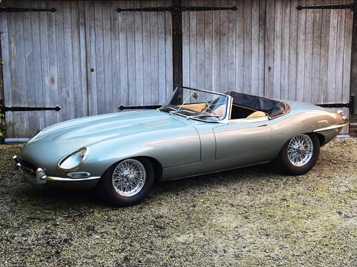 Jaguar E-Type 3,8 Litre OTS (1963).