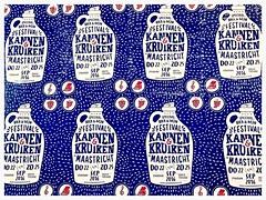 Kannen & Kruiken / Maastricht (rob4xs) Tags: maastricht mestreech nederland thenetherlands kannenenkruiken poster reclame festival bier wijn iphonephoto limburg