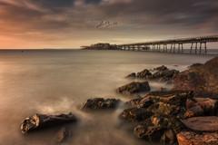Birnbeck Pier Colour (Chris Sweet Photography) Tags: pier birnbeckpier seascape landscape rocks structure longexposure sea ocean bristolchannel colour soft lighting sigma nikon westonsupermare somerset