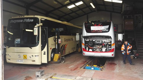 Visit to Gwynne Price Transport,Trimsaran