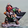 1:144th scale! (RequiemArt.com) Tags: dnd miniature dungeons dragons reaper dwarf rogue