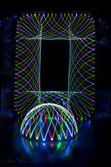 Light Spirograph and Dome (JPaulTierney) Tags: light lightpainting spirograph dome longexposure led ledlights
